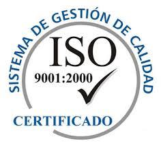 Sello Certificado Sistema Gestión de Calidad ISO 9001_2000