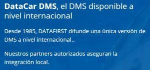 Datacar DMS una versión única a nivel internacional.