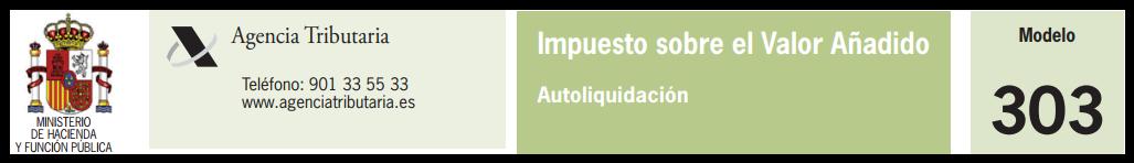 Agencia Tributaria_Modelo 303