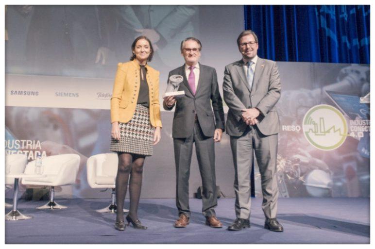 IVECO recibe el Galardón Industria Conectada 4.0 en el III Congreso I.C.