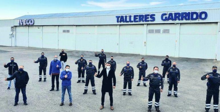 TALLERES GARRIDO DE MOTILLA, IVECO, GALARDON 2020